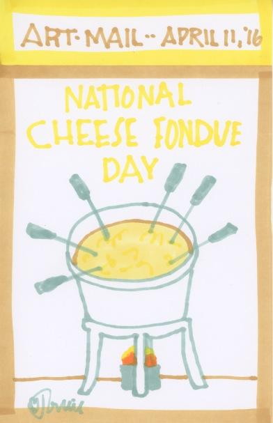 Cheese Fondue 2016