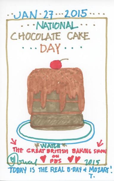Chocolate Cake 2015