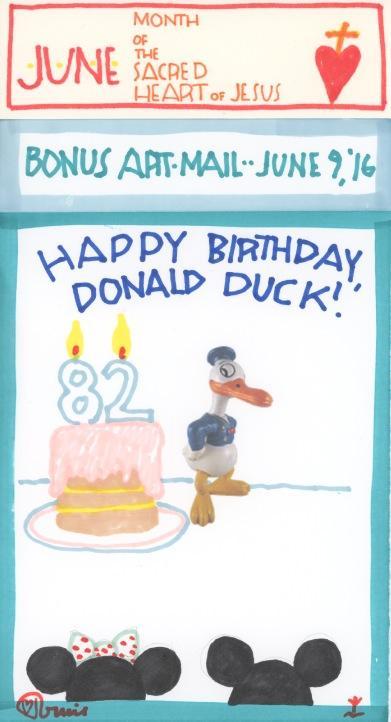 Donald Duck 2016