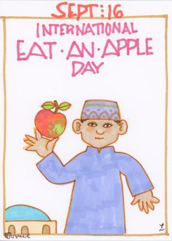 Eat an Apple 2017