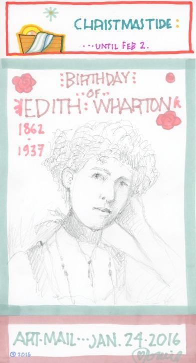 Edith Wharton 2016