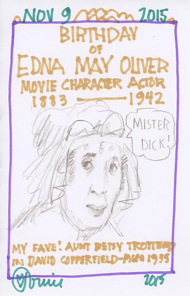 Edna May Oliver 2015