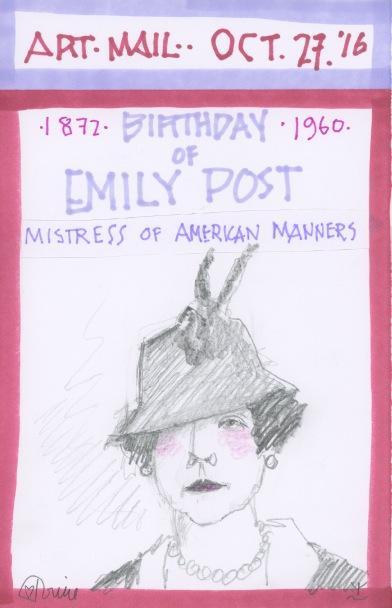 Emily Post 2016