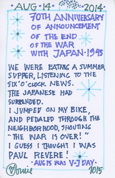 End of Japan War 2015