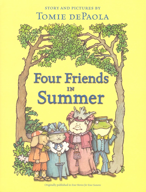 Four Friends in Summer.jpg