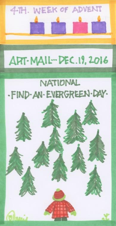 Find an Evergreen 2016