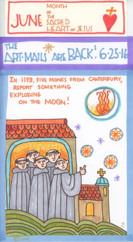 Five Monks in 1178 2016