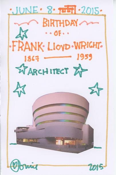 Frank Lloyd Wright 2015