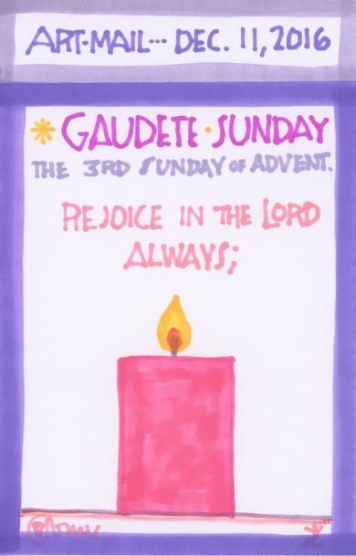 Gaudete Sunday 2016
