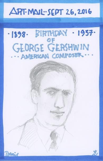 George Gershwin 2016
