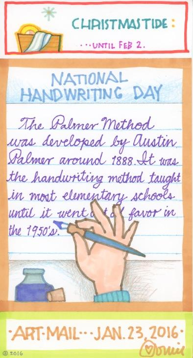 Handwriting 2016