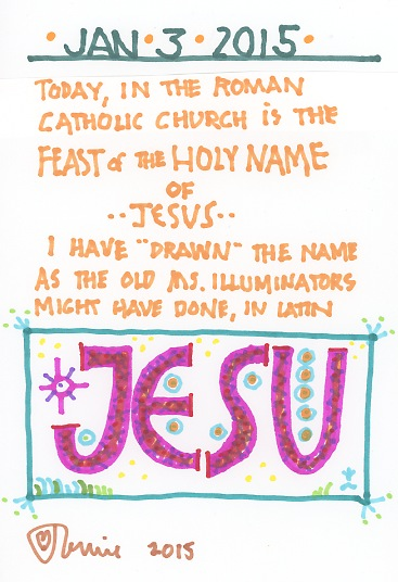 Holy Name Jesus 2015