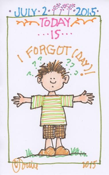 I Forgot 2015
