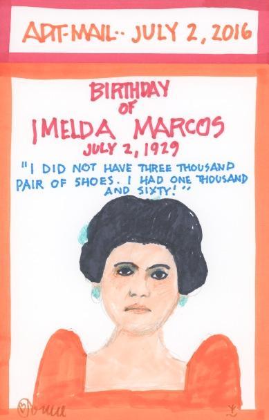 Imelda Marcos 2016