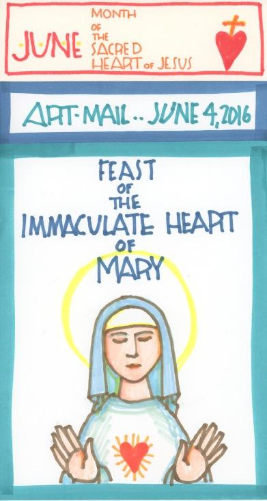Immaculate Heart of Mary 2016