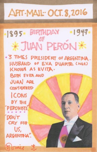 Juan Peron 2016