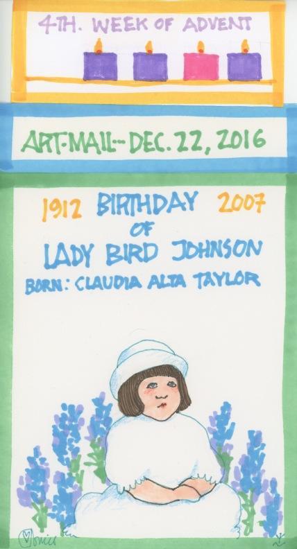 Lady Bird Johnson 2016