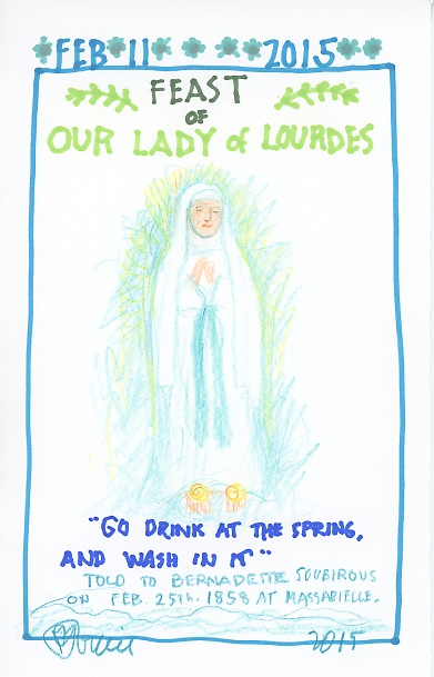 Our Lady of Lourdes 2015