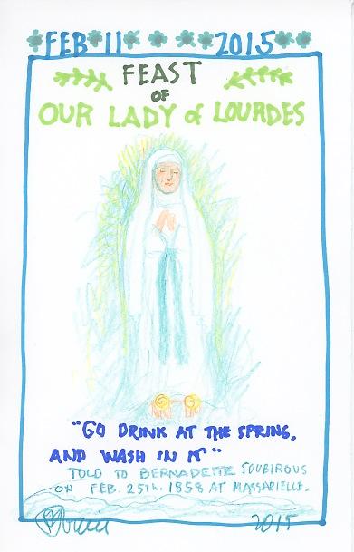 Lady of Lourdes 2015