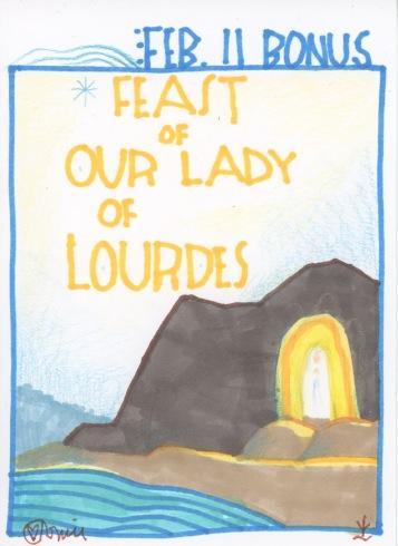 Lady of Lourdes 2017