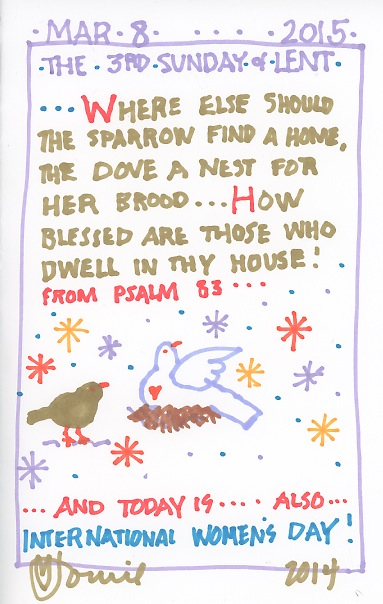 Lent Third Sunday 2015