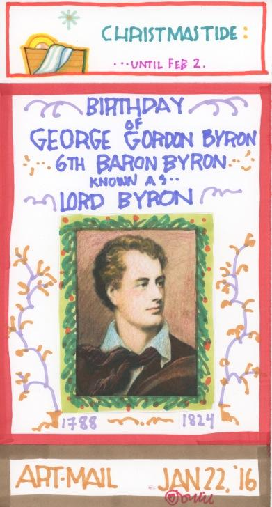 Lord Byron 2016