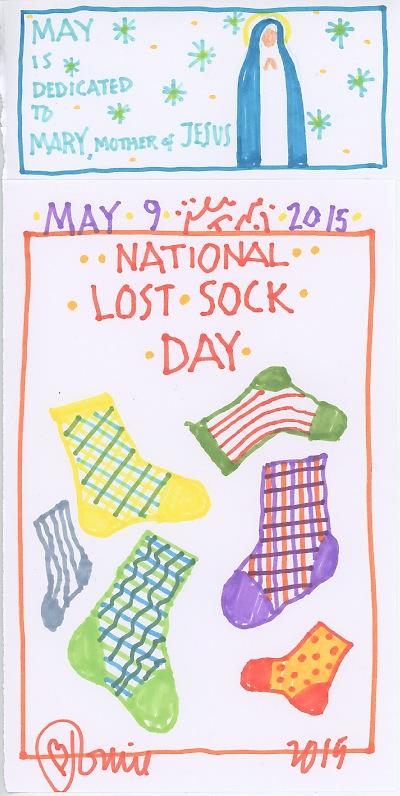 Lost Sock 2015