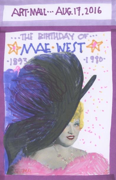 Mae West 2016
