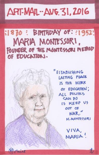 Maria Montessori 2016