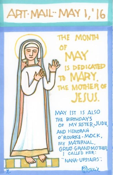 Mary Mother of Jesus Month 2016