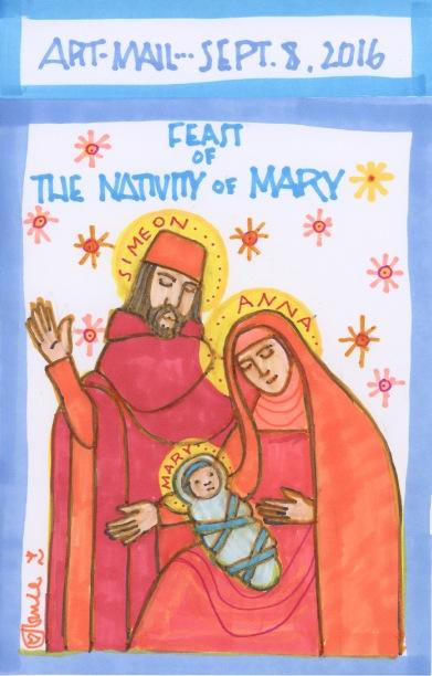 Mary Nativity 2016