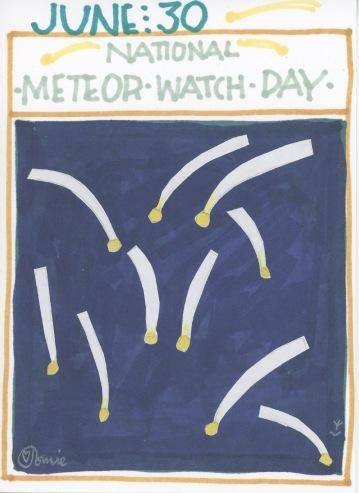 Meteor Watch 2017