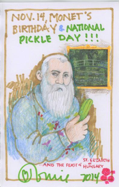 Monet Pickle 2014