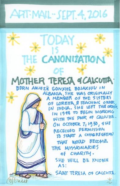 Mother Teresa Canonization 2016
