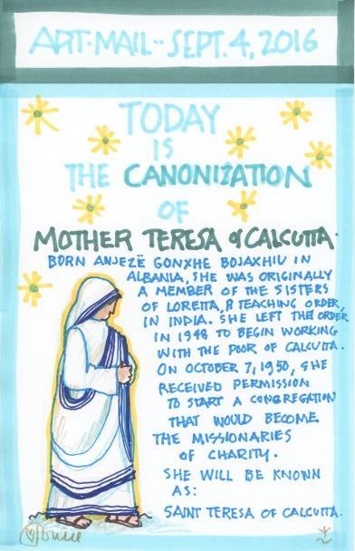 Mother Teresa Canonization 2016