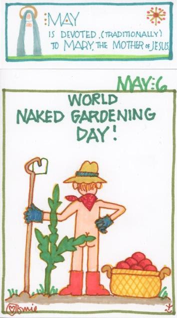 Naked Gardening 2017