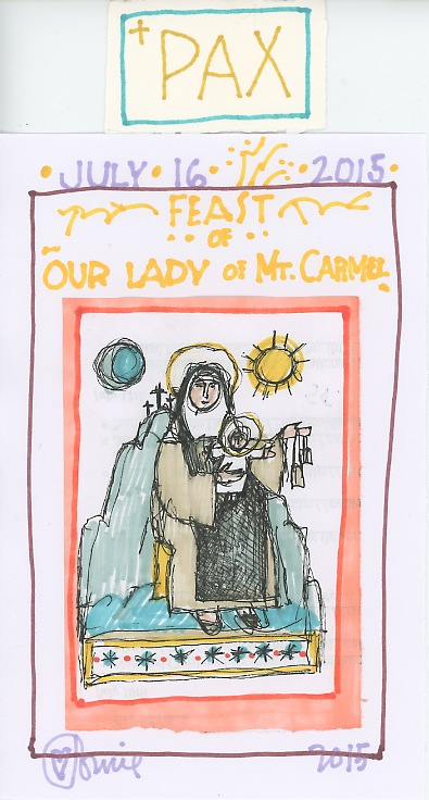 Our Lady of Mt. Carmel 2015