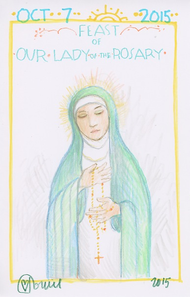 Our Lady of the Rosary 2015