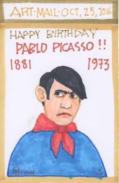 Pablo Picasso 2016