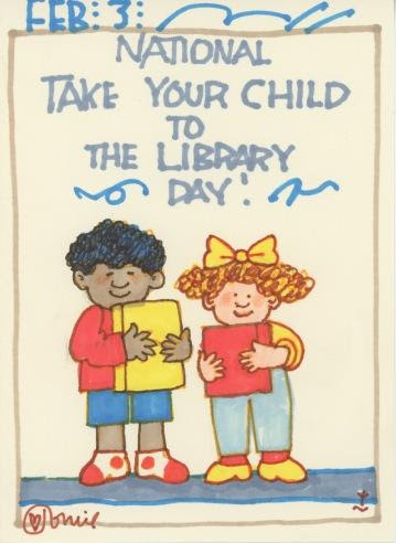Take Your Child to the Library 2018