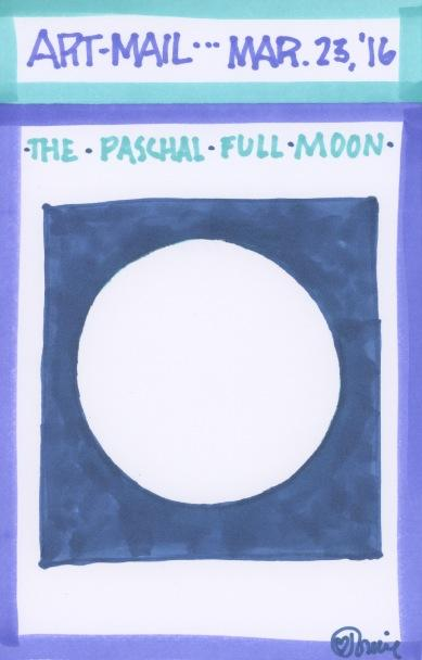 Paschal Full Moon 2016
