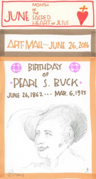 Pearl S Buck 2016