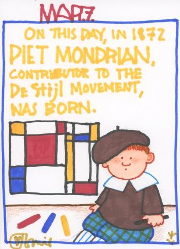 Piet Mondrian 2017