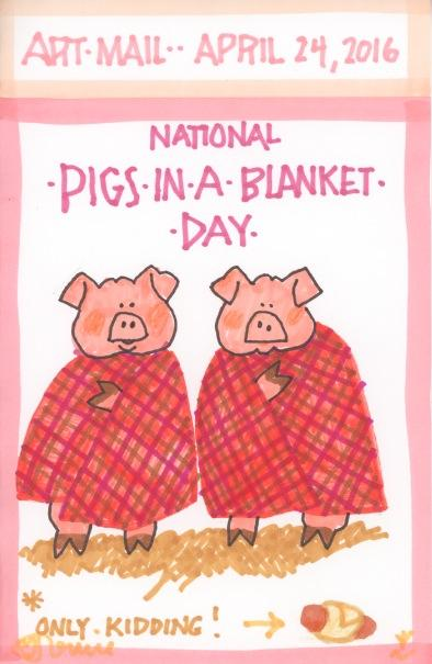 Pigs in a Blanket 2016