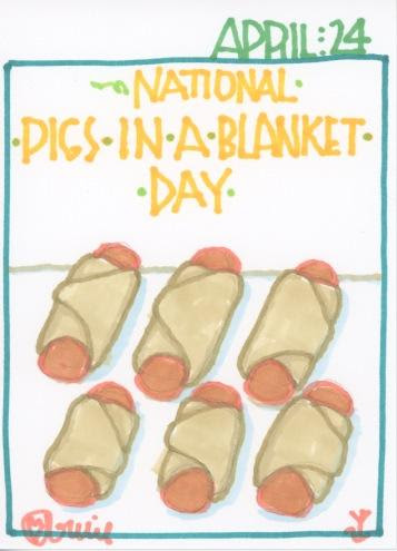 Pigs in a Blanket 2017