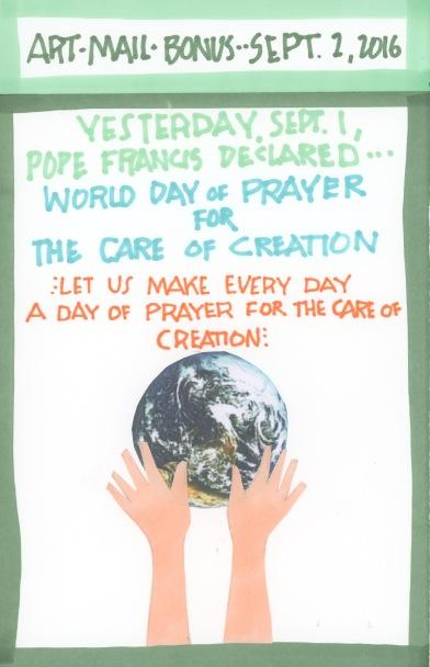 Prayer for the Care of Creation 2016