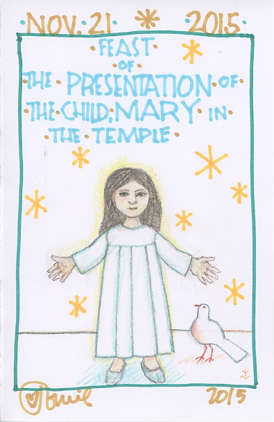 Presentation Child Mary 2015