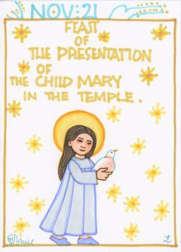Presentation Child Mary 2017