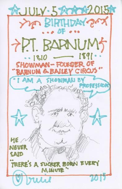 PT Barnum 2015