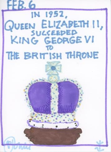 Queen Elizabeth II Throne 2017